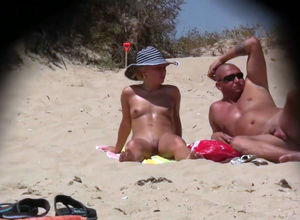Fresh beach hidden cam movie with..