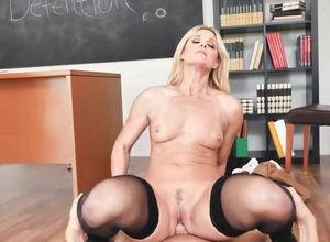 pummels his steamy schoolteacher after..