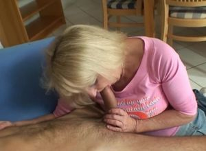 Blond mom in law so magnificent in..