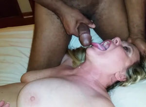 Wifey licks up another fountain of..