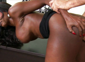 Mature biz nymph Diamond Jackson rails..