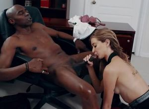 Haley Reed in multiracial allurement